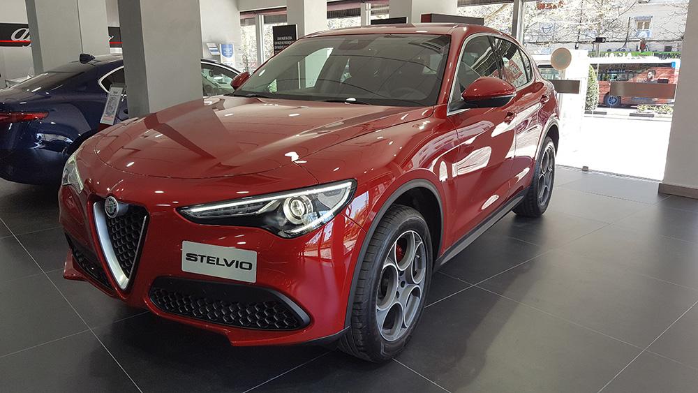 Alfa Romeo Stelvio SUV Alfa