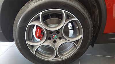 alfa romeo stelvio rueda